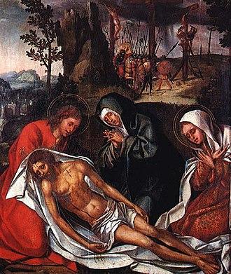 Cristóvão de Figueiredo - Image: Cristóvão de Figueiredo Cristo Deposto da Cruz