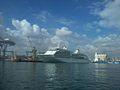 Croisiére SILVER WHISPER en quai au port de Casablanca.jpg