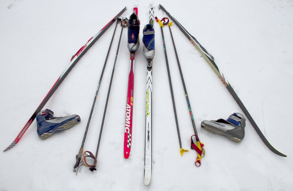 Cross-country equipment--Skate and Classic