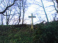 Cross on the side of Chantry Lane. - geograph.org.uk - 292931.jpg