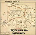 Crown Grant Map - Toetoes Survey District, Part Block III - Fortification Hill Settlement.jpg