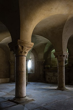 Crypt of the church of St. Marcouf