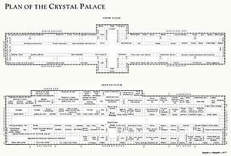 The Crystal Palace - Plan of the Crystal Palace