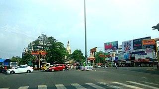 Cutchery Neighbourhood in Kollam, Kerala, India