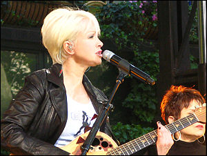 "All Through the Night (Cyndi Lauper song) - Lauper performing the song at the ""Summer Concert"" in New York."