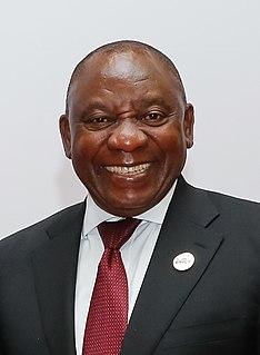Präsident der Republik Südafrika