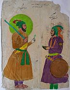 Dárá Shikúh and Solaiman Shikúh