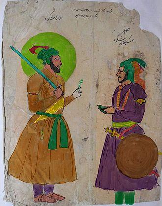 Sulaiman Shikoh - Dara Shikoh and Sulaiman Shikoh