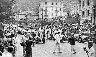 1937 Monaco Grand Prix - The start