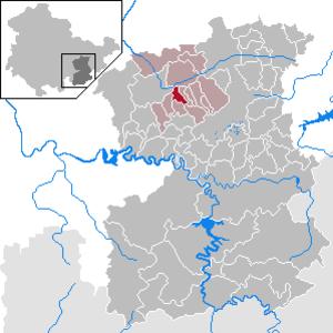 Döbritz - Image: Döbritz in SOK