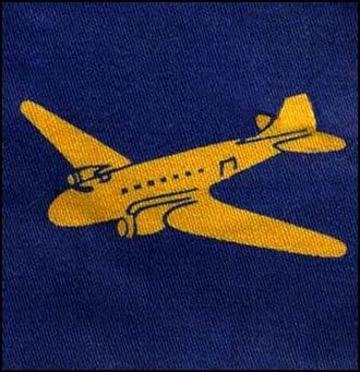 395 Air Despatch Troop RLC -  Dakota patch worn by all Air Despatchers