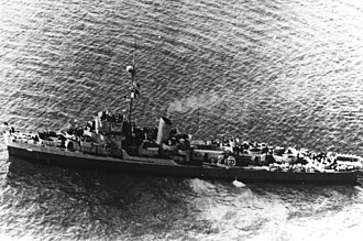 USS Frederick C. Davis - Image: DE 136 Frederick C Davis