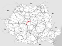 DN14 főút Románia.png