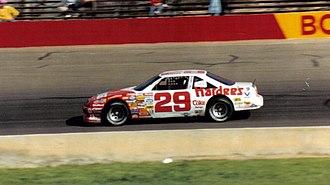 Dale Jarrett - 1989 racecar