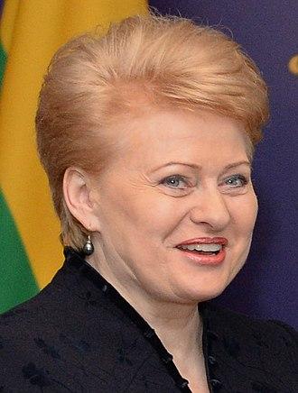 2014 Lithuanian presidential election - Image: Dalia Grybauskaitė 2013 11 17