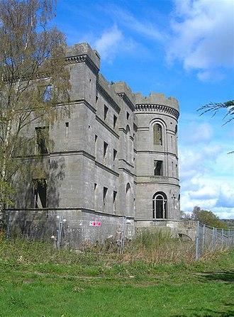 Dalquharran Castle - Image: Dalquarran Castle geograph.org.uk 790426