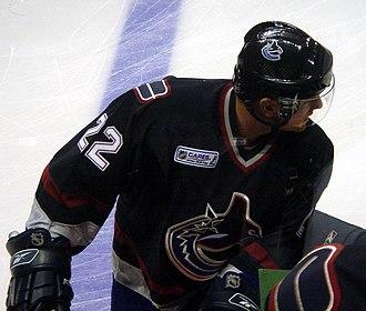 Daniel Sedin - Daniel during the 2005–06 season opener.