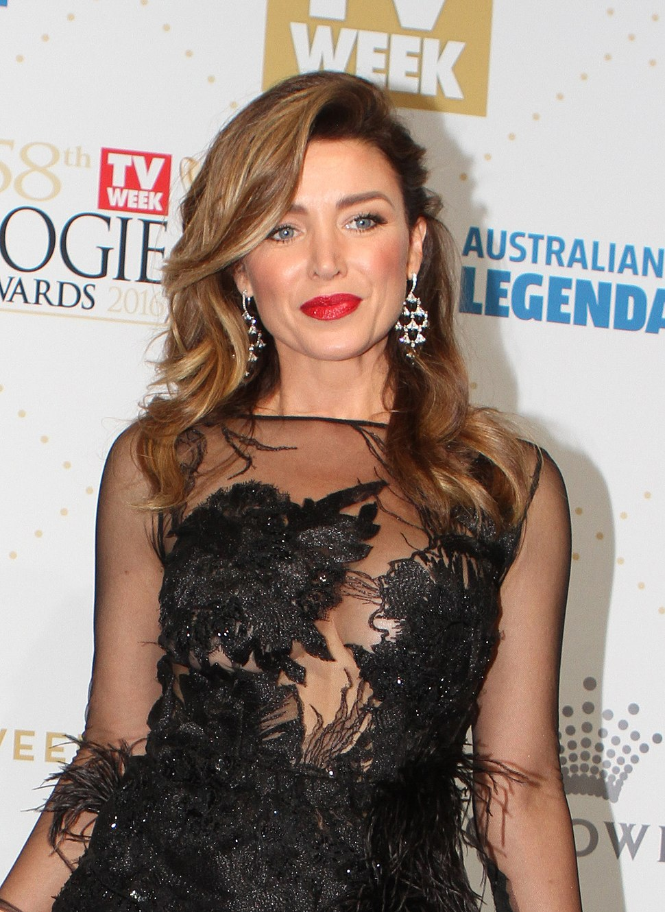 Dannii Minogue arrives at the 58th Annual Logie Awards at Crown Palladium (26904220225) cropped