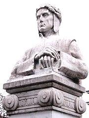 Dante by Erminio Blotta, at Blvd. Oroño Rosario, Argentina