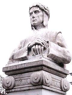 Dante of Erminio Blotta, at Bd. Oroño, Rosario