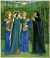 Dante Gabriel Rossetti - The Meeting of Dante and Beatrice in Paradise (1853).jpg