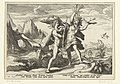 Daphne verandert in een laurierboom Ovidius' Metamorfosen (serietitel), RP-P-1882-A-6356.jpg