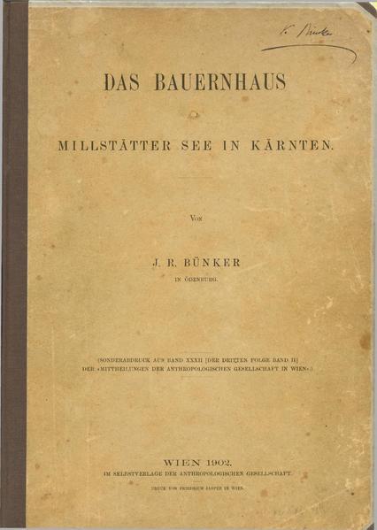 File:Das Bauernhaus am Millstätter-See in Kärnten - Bünker - Teil 1 und 2.pdf