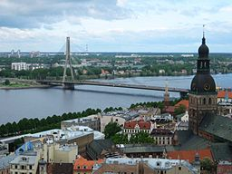 Daugava i Riga