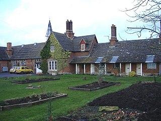 Dauntsey village in the United Kingdom