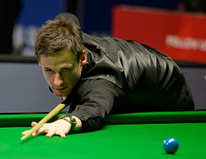 David Gilbert (snooker player) - Gilbert at 2015 German Masters