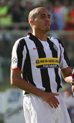 David Trezeguet - Trezeguet playing for Juventus.