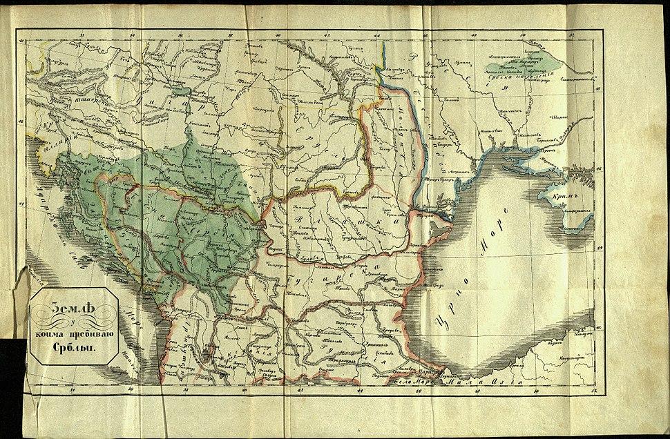 Davidovic map 1846