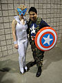 Dazzler and Captain America (5134037229).jpg
