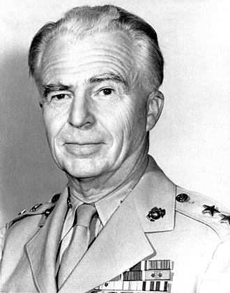 DeWitt Peck - Major General DeWitt Peck, USMC