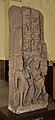 Decorative Door Pillar Showing Ganga on Crocodile - Mediaeval Period - Bharna Khurd - ACCN 16-1205 - Government Museum - Mathura 2013-02-23 5213.JPG