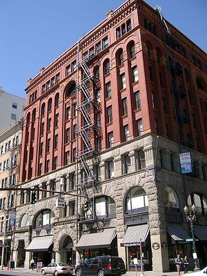 Janrain - The Dekum Building in downtown Portland houses Janrain's headquarters