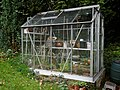 Delapidated greenhouse, Nuthurst, West Sussex, England.jpg