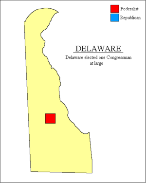 United States House of Representatives elections, 1796 - Image: Delaware 1796