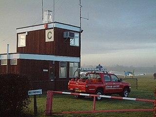 Denham Aerodrome airport in the United Kingdom