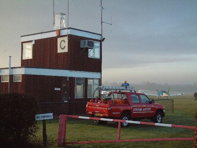 Denham Aerodrome Control Tower - geograph.org.uk - 89743
