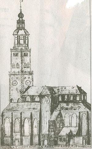 Der Aa-kerk - Image: Der Aa kerk in 1710