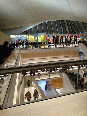 Design Museum - View across the top floor