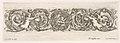 Design for a Frieze with Acanthus Scrolls with the Theme of Love, Plate 7 from- 'Decorative friezes and foliage' (Ornamenti di fregi e fogliami) MET DP833572.jpg