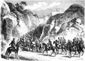 Detachment of Aleksander Krukowiecki (Brzeziński) near Pieskowa Skała 1863.PNG