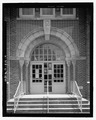 Detail of south front entrance facing north - Oak Park Elementary School, 4916 East Tenth Avenue, Tampa, Hillsborough County, FL HABS FL-519-12.tif