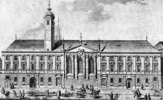 Church of the Teutonic Order, Vienna - Image: Deutschordenshaus Wien 1733