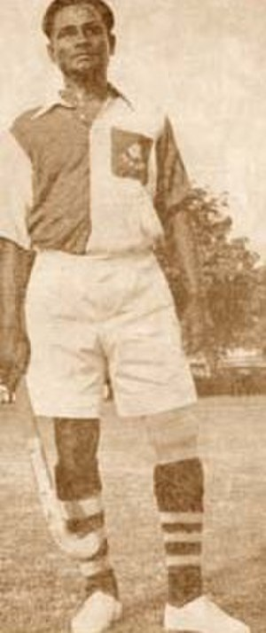 Dhyan Chand - Indian hockey captain Dhyan Chand at 1936 Berlin Olympics