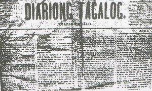 Diariong Tagalog, Jueves, 1 de Enero de 1882.