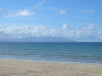 Geography of Ireland - Dingle Peninsula as viewed from Banna Strand