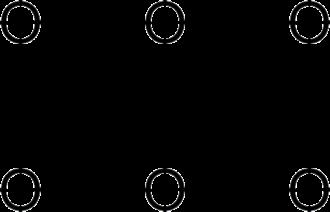 Dioxane tetraketone - Image: Dioxane tetraketone